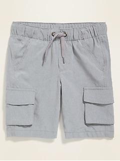 Dry-Quick Tech Cargo Shorts for Toddler Boys