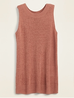 Lightweight Sleeveless Sweater Tank Top for Women