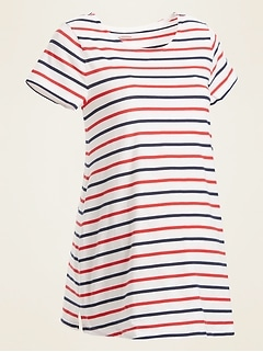 Maternity Mariner-Stripe Tee