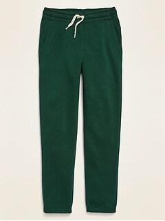 Slub-Knit Jogger Sweatpants for Boys