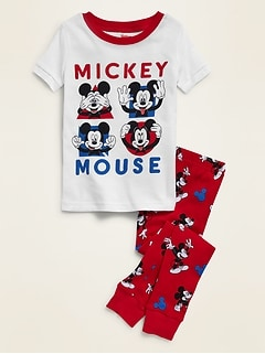 Disney© Mickey Mouse Pajama Set for Toddler & Baby