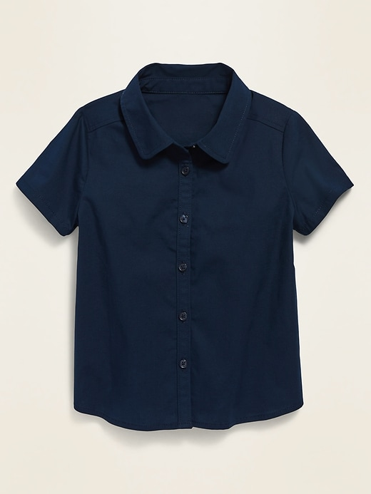 Uniform Shirt for Toddler Girls