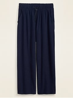 High-Waisted Breathe ON Wide-Leg Crop Pants for Women