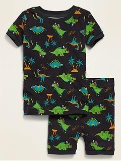 Pyjama à motifs de dinosaures pour tout-petit et bébé