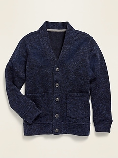 Uniform Sweater-Fleece Cardigan for Boys