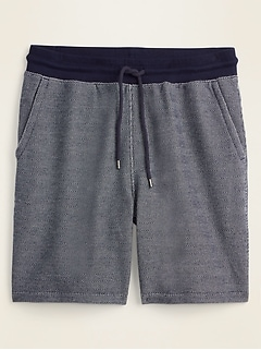 French Terry Baja Jogger Shorts for Men -- 7.5-inch inseam