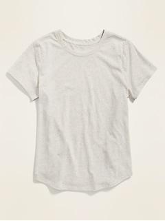 T-shirt à col rond Tout-aller nopé arc-en-ciel pour femme