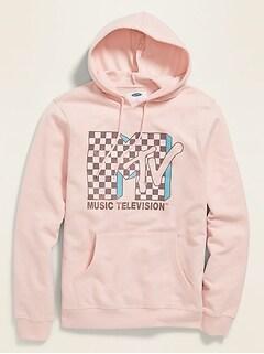 MTV™ Graphic Unisex Pullover Hoodie