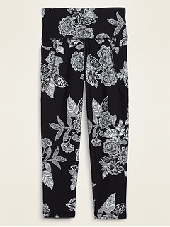 High-Waisted Elevate Powersoft Crop Leggings for Women