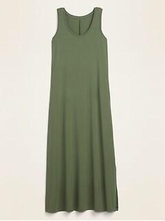 Jersey-Knit Maxi Tank Dress for Women