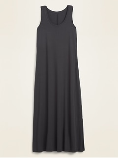 Jersey-Knit Maxi Tank Dress for Women