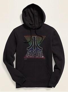 Atari® Graphic Unisex Pullover Hoodie