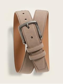 Faux-Suede Belt for Men