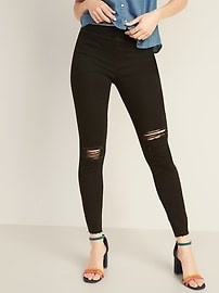 Distressed Rockstar Jeggings for Women