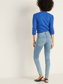 Mid-Rise Rockstar Super Skinny Jeans for Women