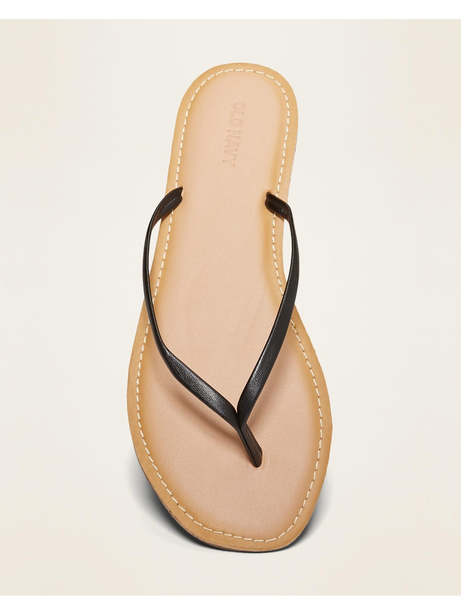 Size 7 Old Navy Faux Leather Capri Sandal