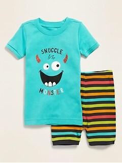 Pyjama «Snuggle Monster» pour tout-petit et bébé