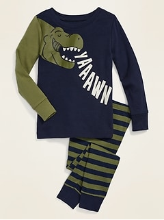 Dinosaur Pajama Set for Toddler Boys & Baby