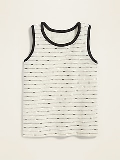Striped Tank Top for Toddler Boys