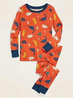 Dinosaur Pajama Set for Toddler & Baby