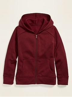 Uniform Zip Hoodie for Girls