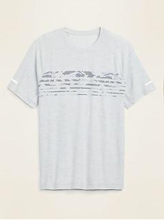 T-shirt ultra doux Breathe ON à imprimé Performance pour homme