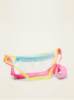 POPSUGAR x Old Navy Clear Vinyl Fanny Pack