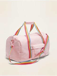 Canvas Duffel Bag for Girls