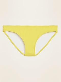 Bas de bikini à taille moyenne pour femme