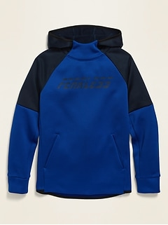 Graphic Tech Fleece Pullover Hoodie for Boys