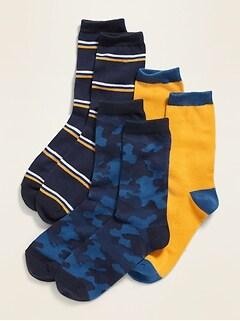 Chaussettes pour garçon (paquet de3)