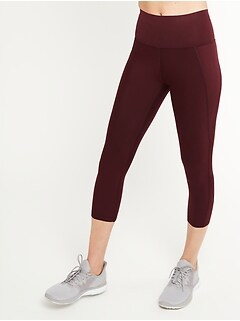 High-Waisted Elevate Built-In Sculpt Crop Leggings for Women
