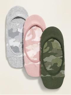 No-Show Liner Socks 3-Pack for Women
