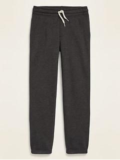 Pantalon d'exercice unisexe avec coulisse à la taille pour enfant
