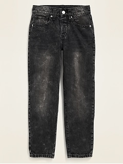 POPSUGAR x Old Navy High-Waisted O.G. Straight Black Jeans