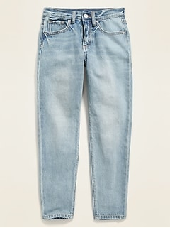 POPSUGAR x Old Navy High-Waisted O.G. Straight Light-Wash Jeans