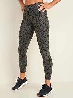 High-Waisted Elevate 7/8-Length Leggings for Women