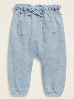 U-Shaped French Terry Pants for Baby