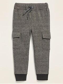 Pantalon d'entraînement cargo avec coulisse fonctionnelle pour tout-petit garçon