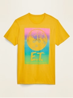 E.T. The Extra-Terrestrial™ Graphic Gender-Neutral Tee for Men & Women