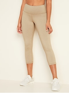 High-Waisted Elevate CozeCore Crop Leggings for Women