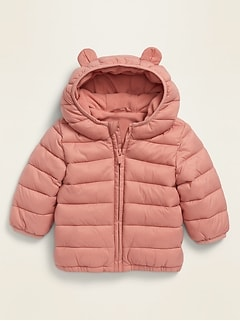 Unisex Hooded Frost-Free Jacket for Baby