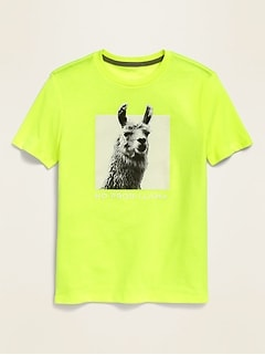 Short-Sleeve Graphic Tee for Boys