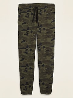 Camo Tapered Sweatpants for Men