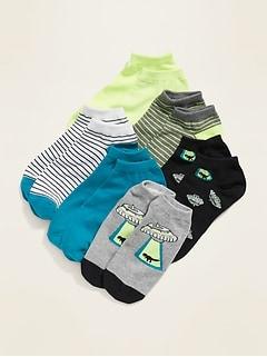 Chaussettes basses pour garçon (paquet de 6 paires)