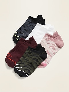 Go-Dry Lightweight Active Ankle Socks 5-Pack for Women
