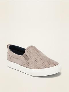 Chaussures unisexe à enfiler en toile pour tout-petit