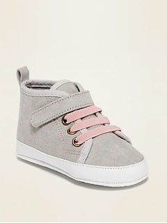 Printed Faux-Suede High-Tops for Baby