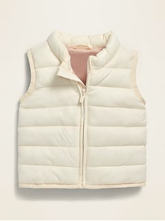 Unisex Frost-Free Solid Puffer Vest