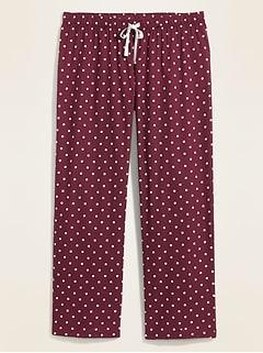 Pantalon de pyjama en popeline, taille Plus